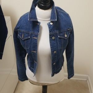 Denim jeans jacket size small